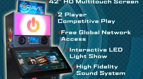 ReRave Arcade Cabinet as seen on the flyer