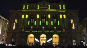 Another Building With Projected Pinball + 24 Hour Le Mans Pinball in France