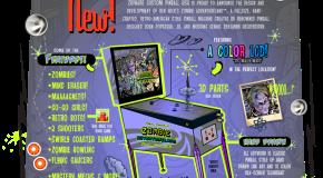 Sweet new details on Ben Heck's Zombie Adventureland Pinball in 3D