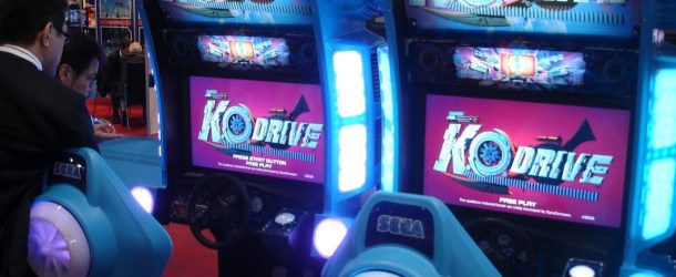 EXCLUSIVE: Sega unveils new arcade racer, K.O. DRIVE at DEAL 2012