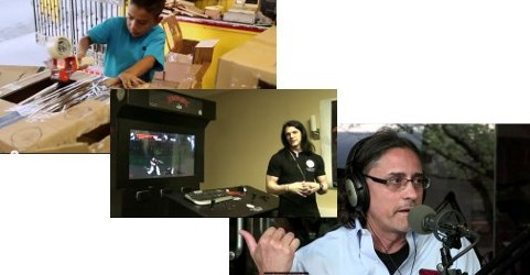 Videos of the Day: Caine's Arcade; Dark Presence Arcade Panel; George Gomez Interview