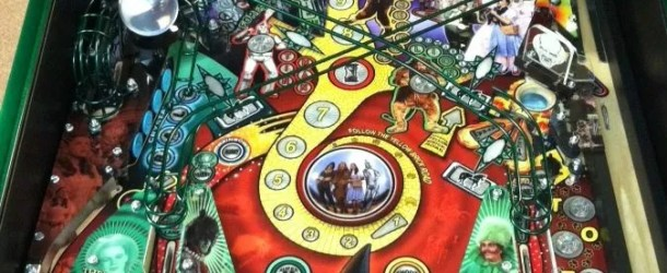 First pics of a nearly complete Wizard of Oz Pinball machine