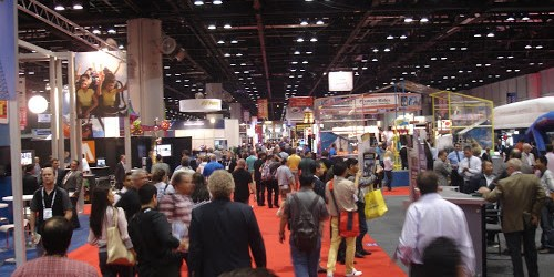 IAAPA 2012 Show Floor Pictures Batch #1