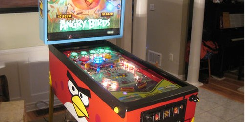 Two-For-One: Angry Birds Pinball Auction; Playing Retro Games On New Monitors
