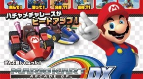 Namco Launches Mario Kart Arcade GP DX Japanese Version