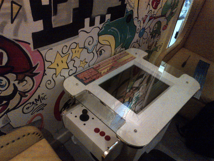 Arcade Heroes LOADING SOHO Gaming Cafe Added To The MADD Bar In