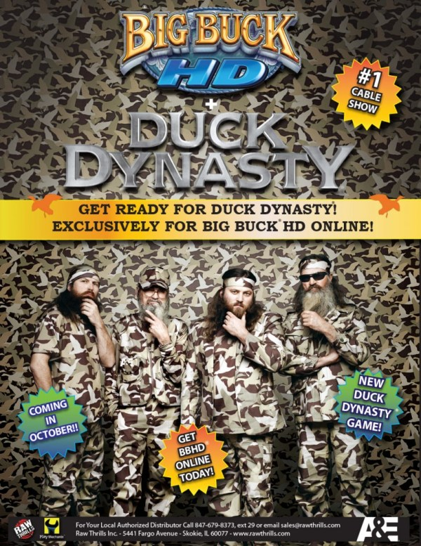 Duck Dynasty Arcade