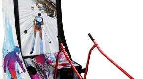 Namco's New Alpine Racer Arcade Prototype Cabinet Revealed