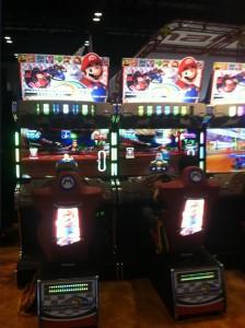 Mario Kart Arcade GP DX at IAAPA2013
