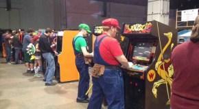 The Arcade Floor Of Magfest 12