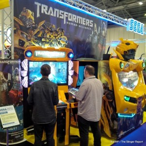 Part of Sega's EAG14 booth in London