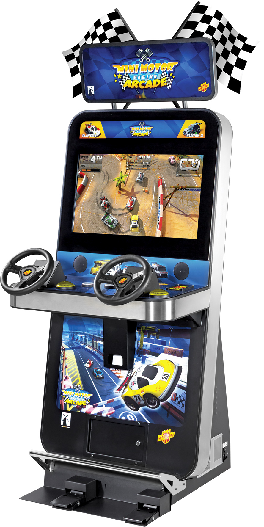 Arcade Heroes New Cabinet Shot And Video Trailer for Mini Motor ...