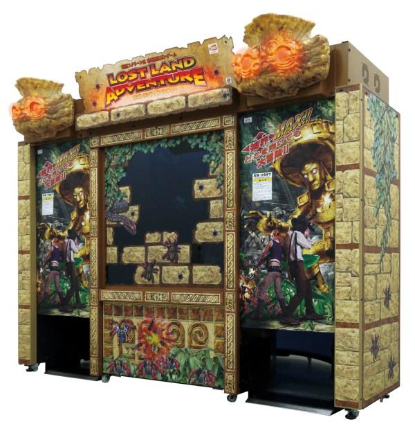Lost Land Adventure Cabinet