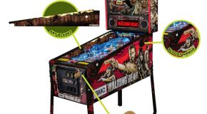 Stern Launching Official The Walking Dead Pinball Accessory Kits