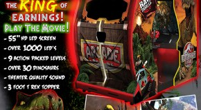 New Jurassic Park Arcade Flyer & Release Times