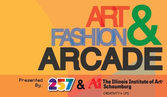 Art & Fashion Arcade Logo