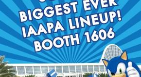 Sega Amusements Unveils Initial IAAPA 2015 Line-Up