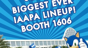 Sega Amusements Unveils Initial IAAPA 2015 Line-Up