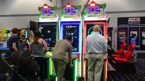 Galaga Assault was getting a lot of play