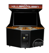 Killer Queen Orange Cabinet