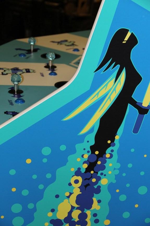 Killer Queen Arcade Side Art
