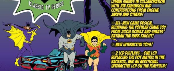 Next From Stern Pinball: Batman 66 (UPDATED)