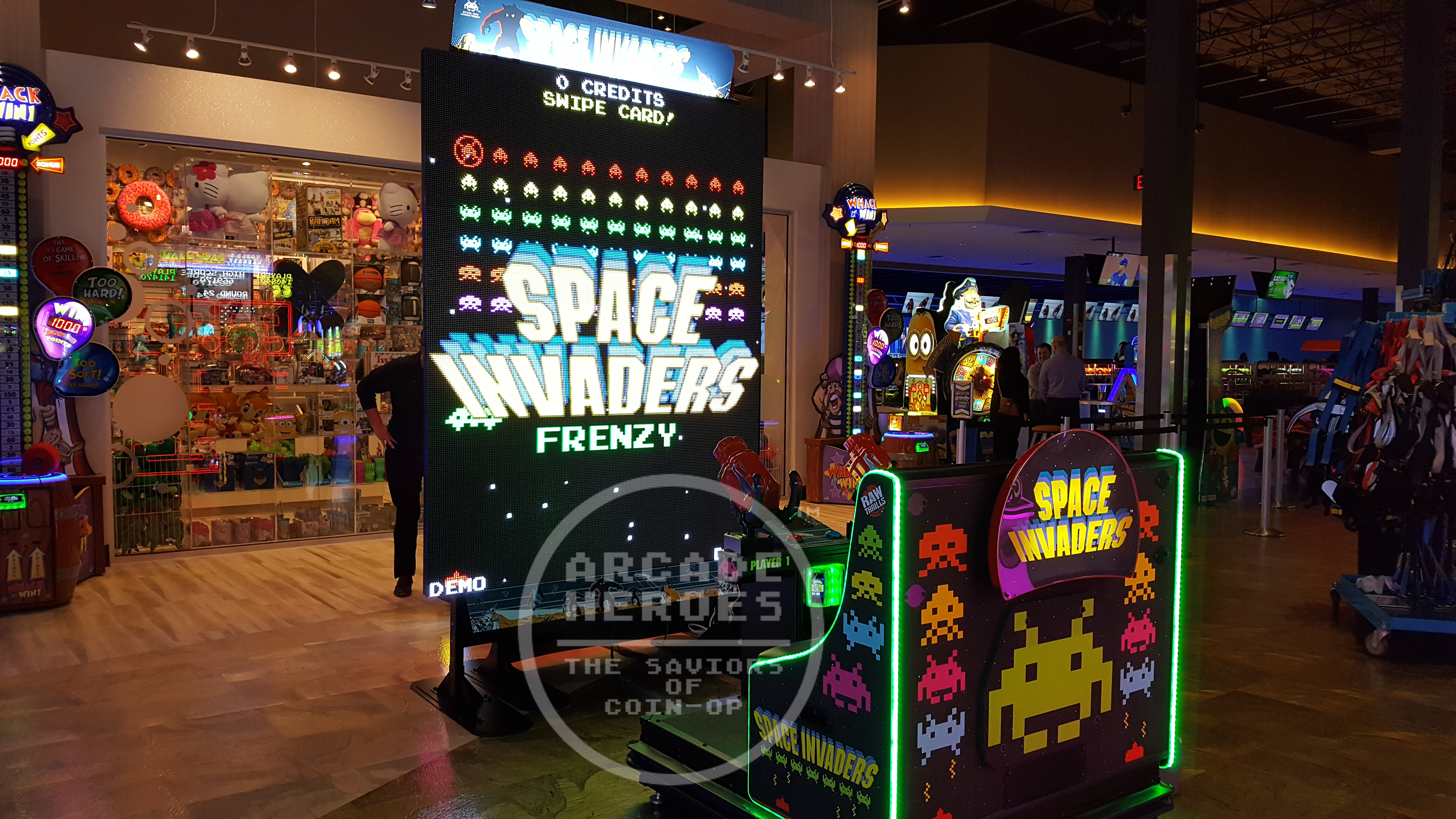 Arcade Heroes New Flyer For Space Invaders Frenzy - Arcade ...