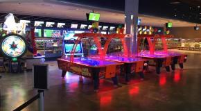 New Arcades: Main Event (KS); T3 Arcade (KS);
