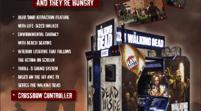 The Walking Dead Arcade Officially Unveiled; Coming January 2017