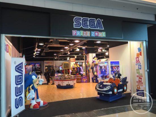 Sega Prizezone Front
