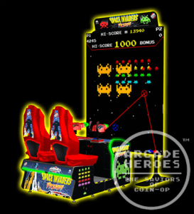 Space Invaders Frenzy cabinet