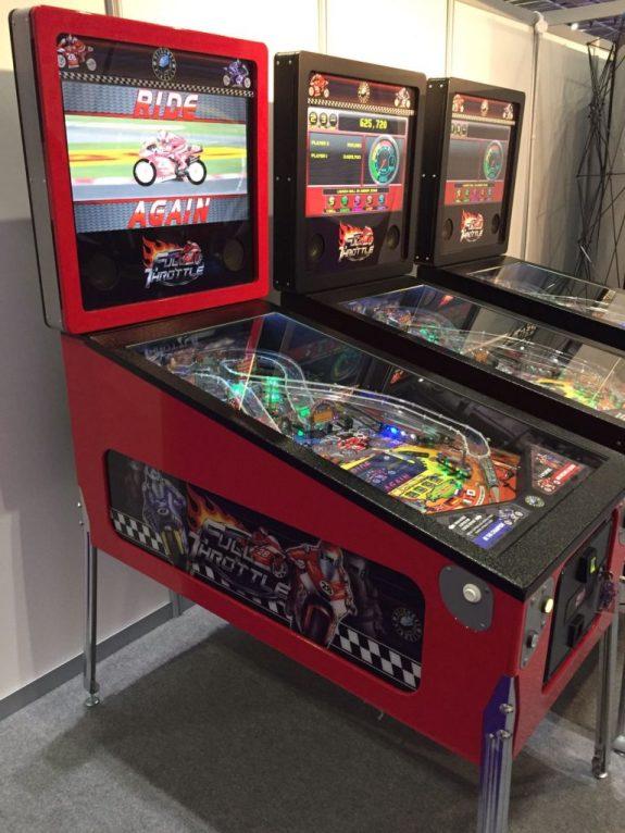 Full Throttle Pinball - EAG Expo 2017