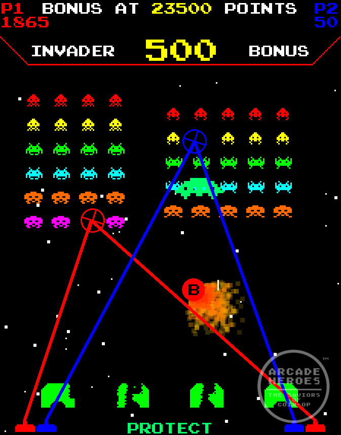 Arcade Heroes Space Invaders Frenzy By Raw Thrills Is ...