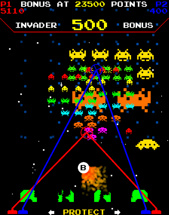 Space Invaders Frenzy screenshot
