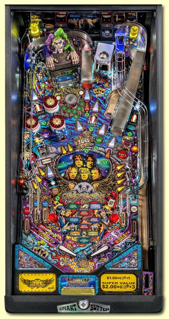Aerosmith Pinball Pro Playfield