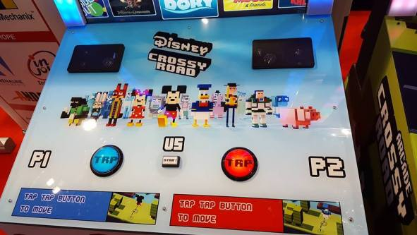 Disney Crossy Road control panel