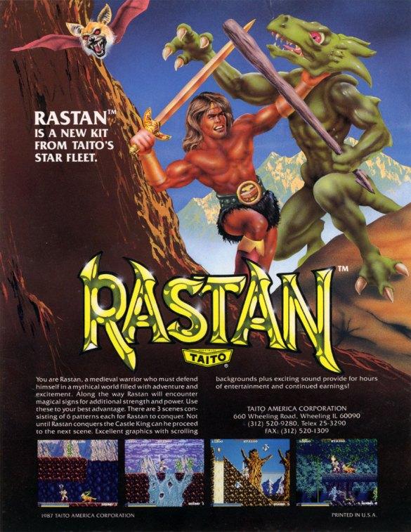 Rastan Flyer