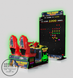 Space Invaders Frenzy Arcade Cabinet