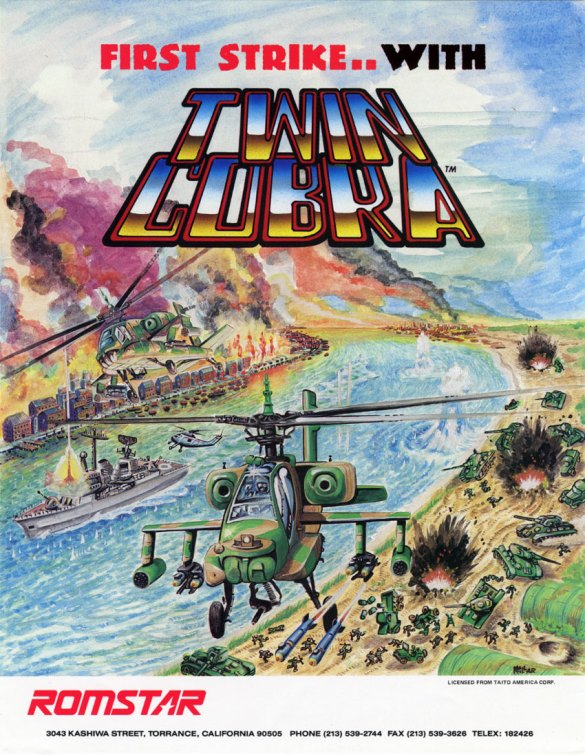 Twin Cobra Flyer