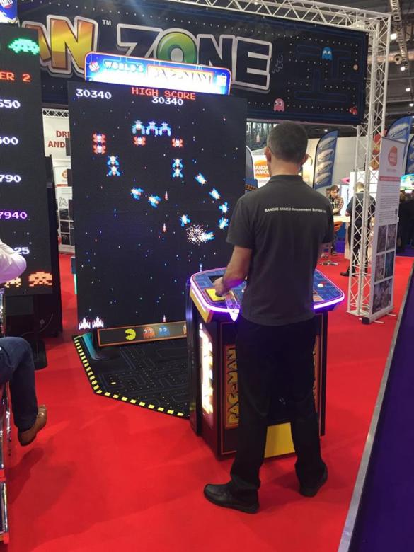 Galaga at EAG 2017