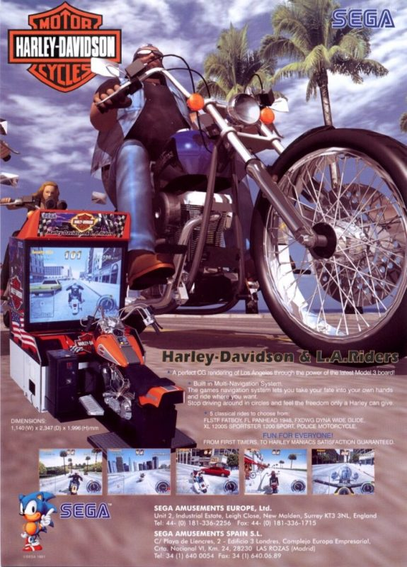 Harley-Davidson & L.A. Riders