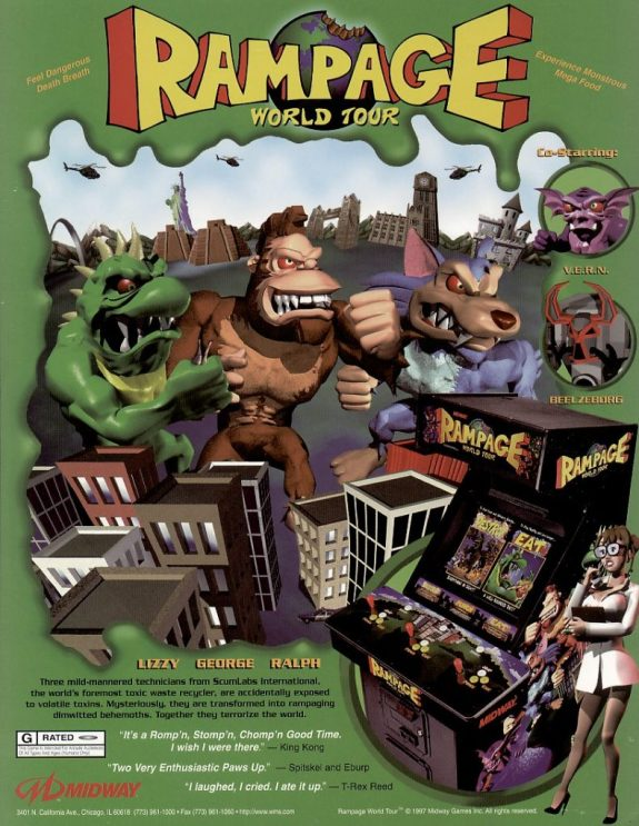 Rampage World Tour Flyer