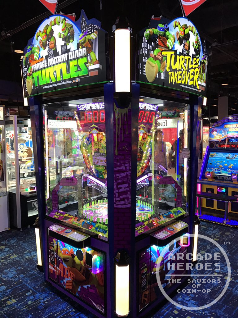 Ninja Turtles Arcade Cabinet Arcade Heroes Newsbytes Art Of Atari Jaepo 2017 Aurcade Ninja