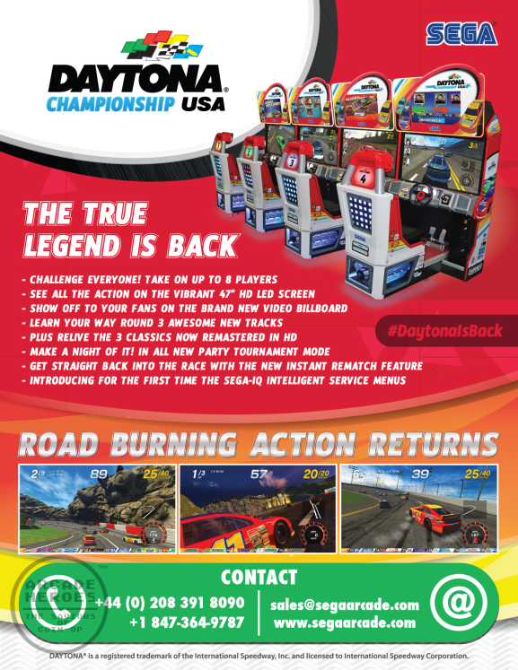 Daytona Championship USA New Flyer
