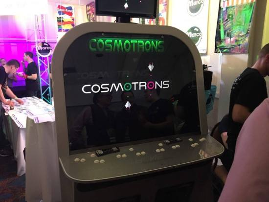 Cosmotrons indie arcade game