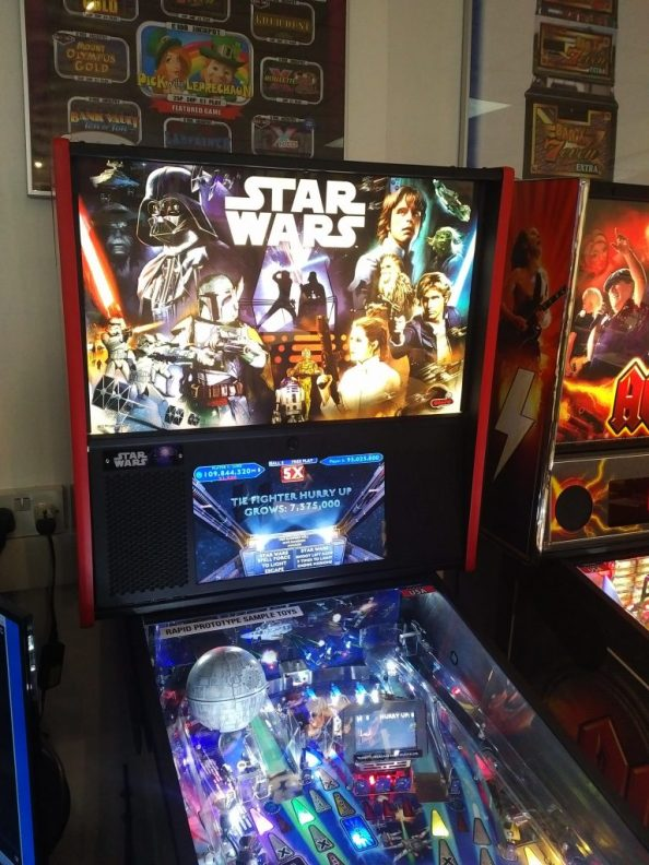 Star Wars Pinball Prototype