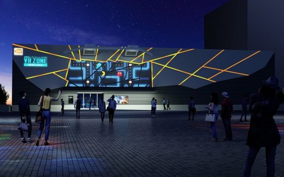 Namco's VR Zone Shinjuku Japan