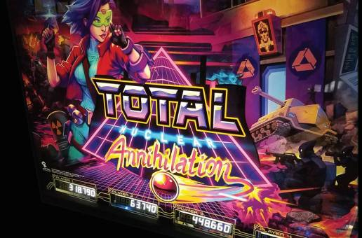 Sales Open For Spooky Pinball's Total Nuclear Annihilation Pinball Machines