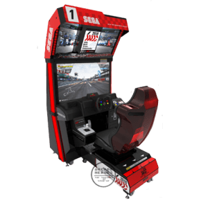 Sega World Drivers Championship arcade racing game by Sega
