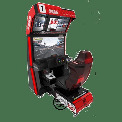 Sega World Drivers Championship arcade racing game by Sega